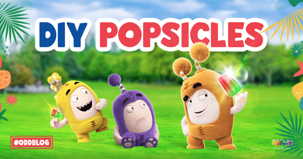 Refreshing Ways to Get Kids to Eat Healthy Fruits. With Oddbods, Nothing is Im-Popsicle!