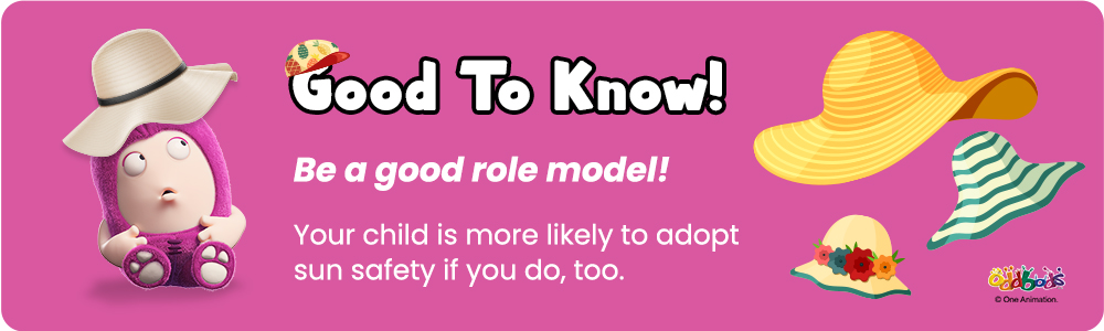 an infographic about parents being good role models