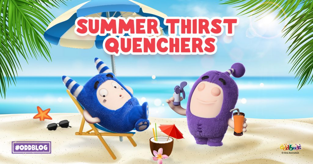 Summer Oddbods Drinks to Quench Your Thirst