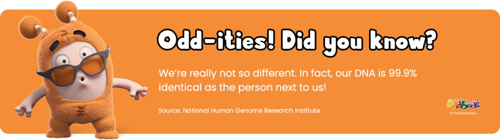 a fun fact about DNA